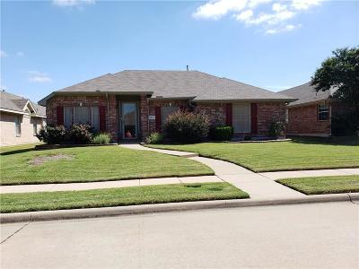 Frisco Single Family Home Active Option Contract: 7604 Scarborough Lane