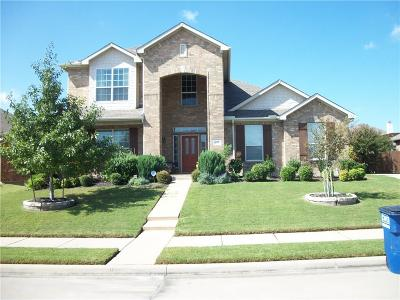 Wylie Single Family Home For Sale: 615 Tuskegee Drive