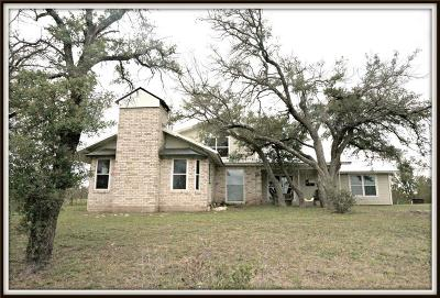 Comanche County Single Family Home For Sale: 1400 County Road 250