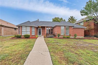 Mesquite Single Family Home For Sale: 1617 Briargrove Drive