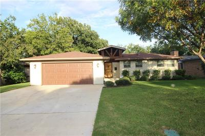 Fort Worth Single Family Home For Sale: 3705 Jeanette Drive