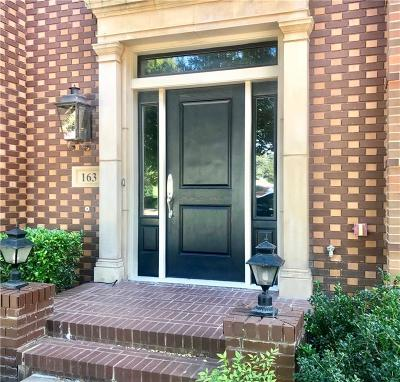 Southlake Townhouse For Sale: 163 Summit Avenue