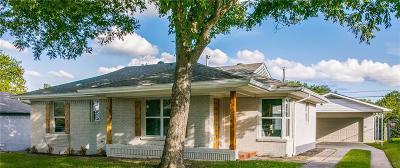 Dallas Single Family Home Active Option Contract: 6622 E Mockingbird Lane