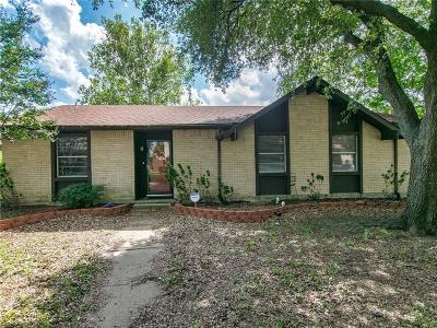 Carrollton Single Family Home Active Option Contract: 1814 Castille Drive