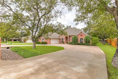 Granbury Single Family Home Active Option Contract: 9408 S Longwood Drive
