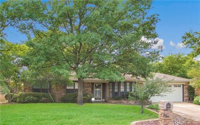 North Richland Hills Single Family Home Active Option Contract: 7629 Perkins Drive