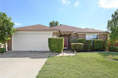 McKinney Single Family Home Active Option Contract: 9937 Coolidge Drive