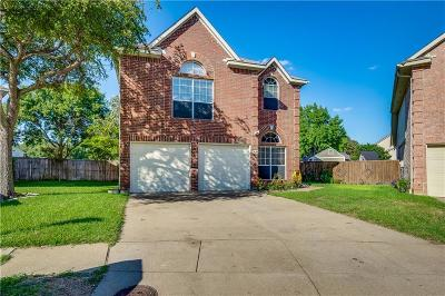 Carrollton Single Family Home Active Contingent: 3808 Seminole Circle