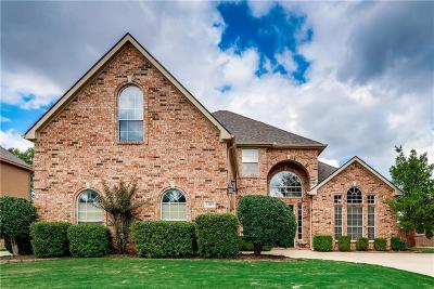 Keller Single Family Home Active Option Contract: 1209 Limestone Creek Drive