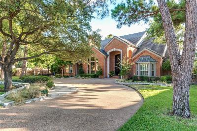 Colleyville Single Family Home Active Option Contract: 3305 Park View Court