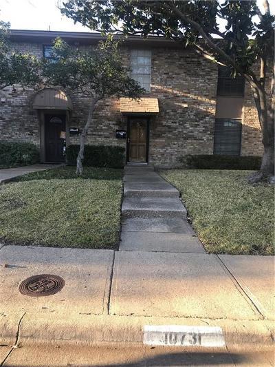 Dallas Townhouse For Sale: 10731 Sandpiper Lane #20