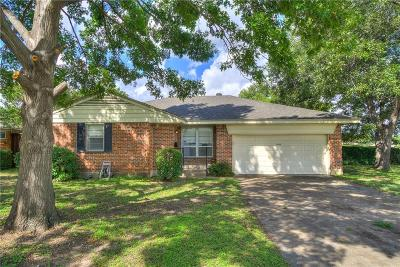 Dallas Single Family Home Active Option Contract: 8585 Sweetwood Drive