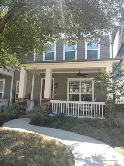 Coppell Residential Lease For Lease: 723 Hammond Street