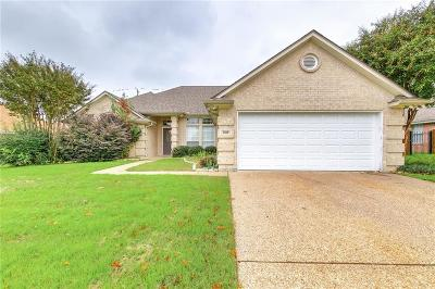 Cleburne Single Family Home Active Option Contract: 1508 Hyde Park Boulevard
