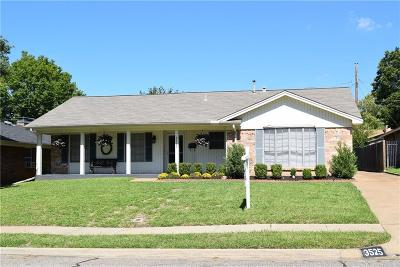 Irving Single Family Home Active Contingent: 3525 Calle Del Sol