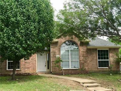 Garland Residential Lease For Lease: 1126 Woodway Drive