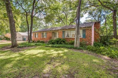 Single Family Home For Sale: 3124 Tanglewood Trail
