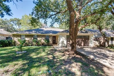 Irving Single Family Home Active Option Contract: 4001 Double Oak Lane