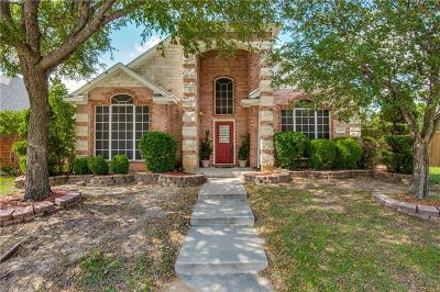 Lewisville Single Family Home For Sale: 2032 Camelot Drive