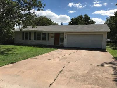 Abilene Single Family Home For Sale: 2525 S 39th Street