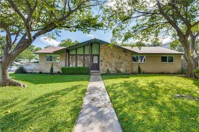 Farmers Branch Single Family Home For Sale: 12822 Pennystone Drive