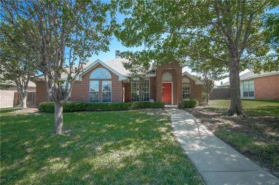 Lewisville Single Family Home For Sale: 2069 Whispering Cove