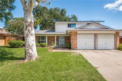 Irving Single Family Home Active Option Contract: 710 Lexington Drive