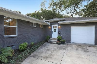 Single Family Home Active Option Contract: 8727 Lullwater Drive