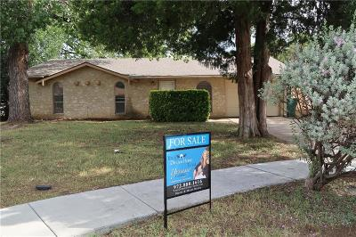 Lewisville Single Family Home Active Option Contract: 165 Pinewood Place
