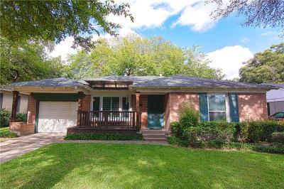 Dallas Single Family Home For Sale: 454 Parkhurst Drive