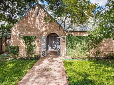Highland Park Single Family Home For Sale: 3614 Lindenwood Avenue