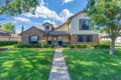 Garland Single Family Home Active Option Contract: 5917 Ozark Trail Lane