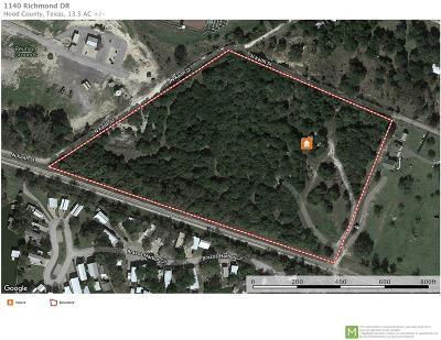 Granbury Residential Lots & Land For Sale: 1140 Richmond Drive