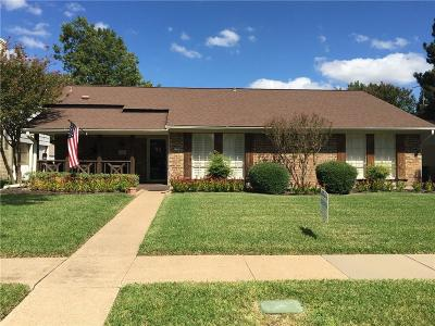 Garland Single Family Home Active Option Contract: 2705 Meadow Park Drive