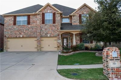 Mansfield Single Family Home For Sale: 306 Adobe Lilly Court