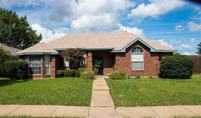 Mesquite Single Family Home Active Option Contract: 1917 Sandcastle Trail