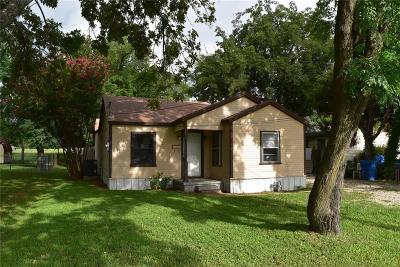 Seagoville Single Family Home For Sale: 102 W Farmers Road