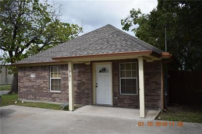 Sherman Single Family Home For Sale: 701 E Chaffin Street