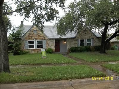 Single Family Home For Sale: 5820 Treese Circle