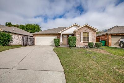 Mckinney Single Family Home Active Option Contract: 1417 Paloma Drive