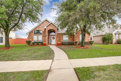 Garland Single Family Home For Sale: 1509 Spring Hollow Lane
