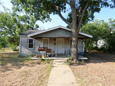 Eastland County Single Family Home For Sale: 109 County Rd 450