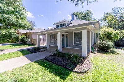 Dallas Single Family Home For Sale: 5516 Victor Street