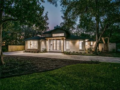 Dallas Single Family Home Active Option Contract: 8465 San Fernando Way