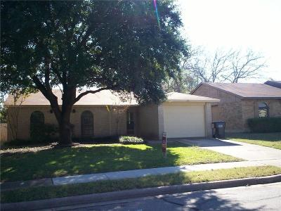 Allen Single Family Home For Sale: 554 Hawthorne Drive
