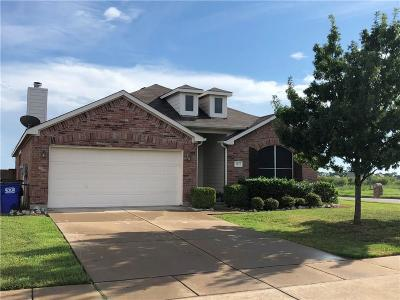 Forney Single Family Home Active Option Contract: 2155 Cedar Park Drive
