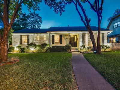 Dallas Single Family Home For Sale: 9339 Mercer Drive