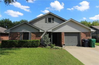 Denton Single Family Home Active Option Contract: 1810 Shawnee Street