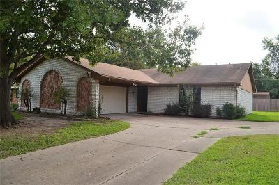 Terrell Single Family Home Active Option Contract: 108 Lexington Drive