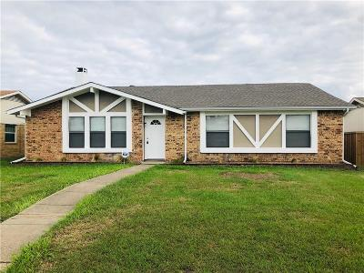 Mesquite Single Family Home For Sale: 1324 Grinnel Drive